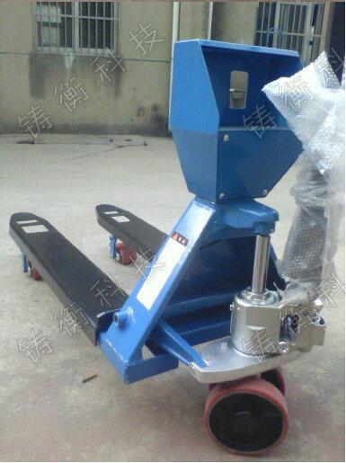 微型打印3吨液压叉车秤